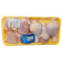 CHICKEN COMBINATION FAMILY PACK THIGHS AND DRUMSTICK PREPACKED PER LB