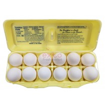 EGGS GRADE A EXTRA LARGE 12 PACK