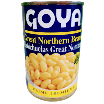 GOYA GREAT NORTHERN BEANS CAN 15.5 OZ