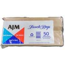 AGM LUNCH PAPER BAGS 50 CT