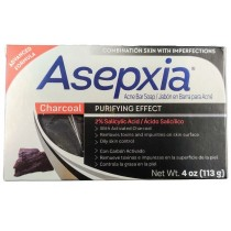 ASEPXIA CHARCOAL ACNE SOAP BAR 4OZ