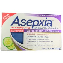 ASEPXIA  ACNE SOFTENING SOAP BAR 4OZ