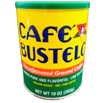 CAFE BUSTELO DECAFFEINATED GROUND COFFEE CAN 10OZ