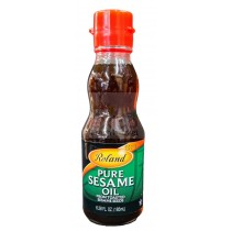 ROLAND PURE SEASAME OIL FROM TOASTED SEASAME SEEDS 6.28 FL OZ