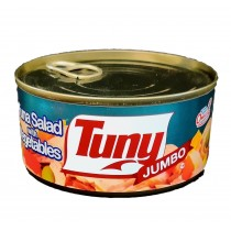 TUNY JUMBO TUNA SALAD WITH VEGETABLE 10.4 OZ