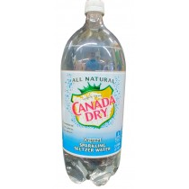 CANADA DRY ORIGINAL SALTZER WATER 2 LTR