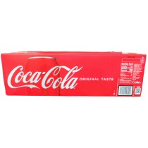 COCA COLA ORIGINAL 12 PACK CAN SODA