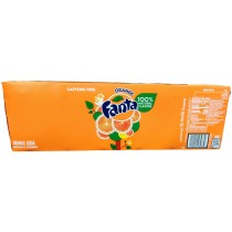 FANTA ORANGE 12 PACK CAN SODA
