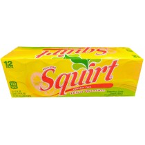 SQUIRT GRAPEFRUIT 12 PACK CAN SODA